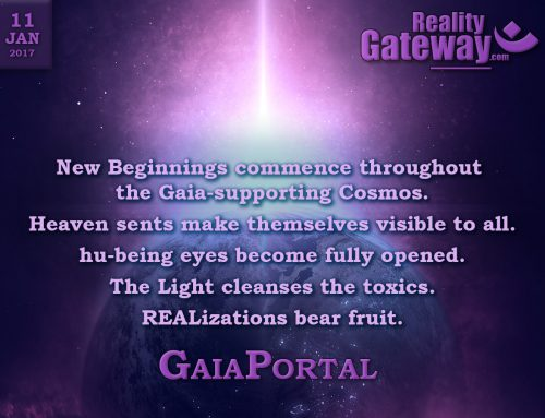 GaiaPortal – New Beginnings commence throughout the Gaia-supporting Cosmos