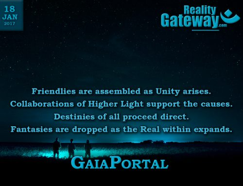 GaiaPortal – Friendlies are assembled as Unity arises.