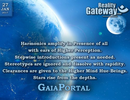GaiaPortal – Harmonics amplify in Presence of all with ears of Higher Perception
